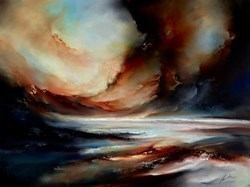 Darkness Foretold by Simon Kenny -  sized 48x36 inches. Available from Whitewall Galleries